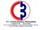 Jobs at PT. CITRA BUANA PRAKARSA